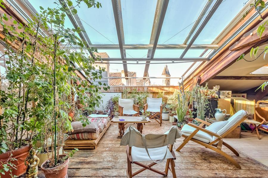 Bordeaux saint paul appartement terrasse jl transactions for Location appartement bordeaux terrasse